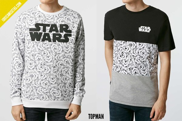 Camisetas star wars topman