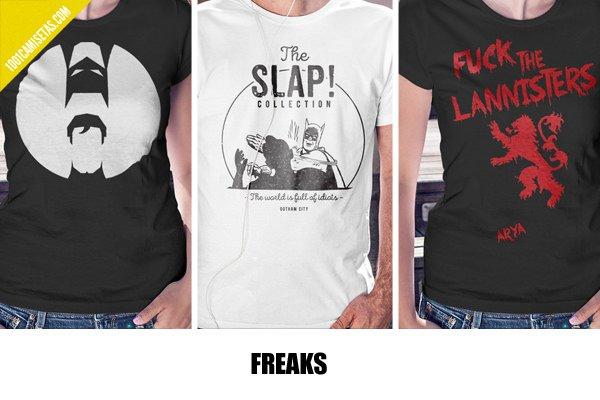 Camisetas freaks
