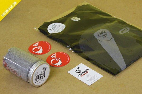 Packaging la cosmonauta