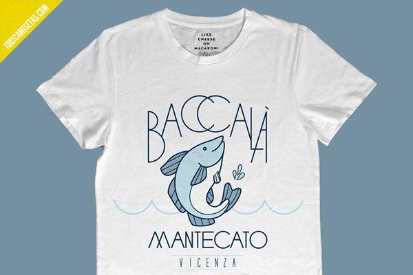 Camiseta baccalá mantecato