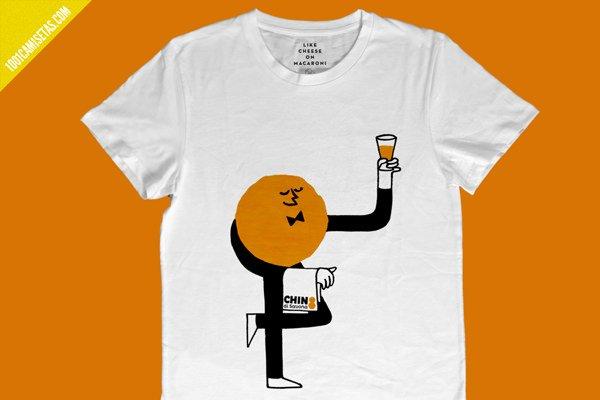 Camiseta chinotto savona