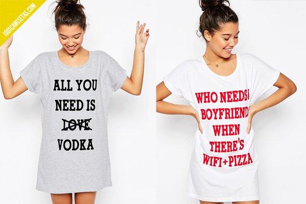 Camisetas de singles