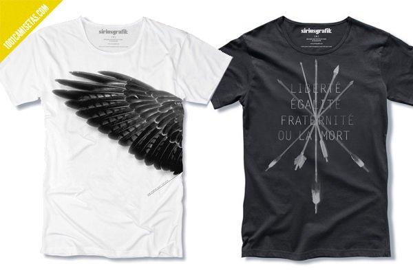 Camisetas oscuras