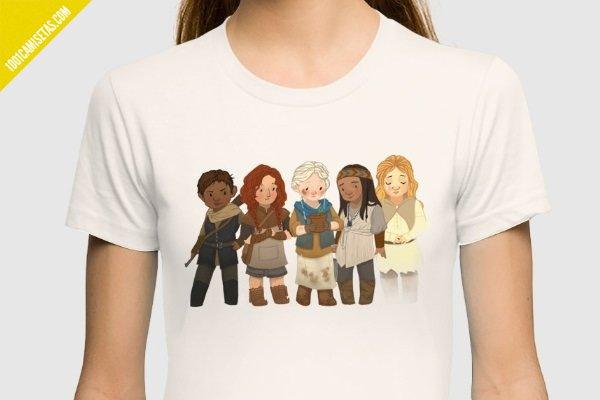 Camiseta sisters of fury road