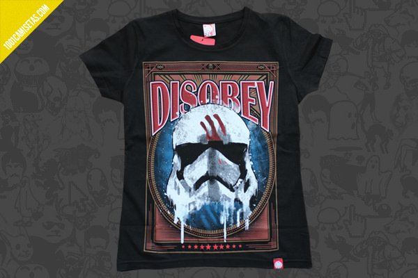 Camiseta star wars señor miyagi