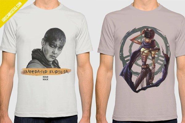 Camisetas imperator furiosa mad max