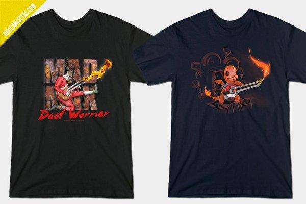 Camisetas mad max doof warrior