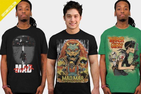 Camisetas mad max