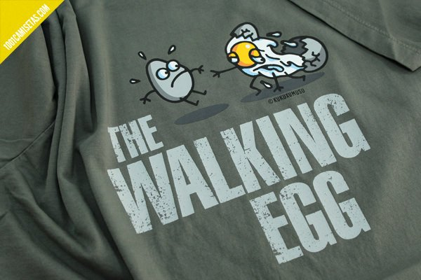 Camiseta kukuxumusu the walking egg
