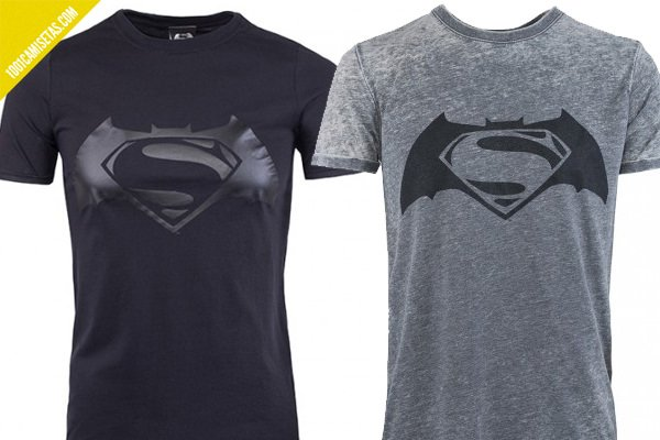 Camisetas batman superman