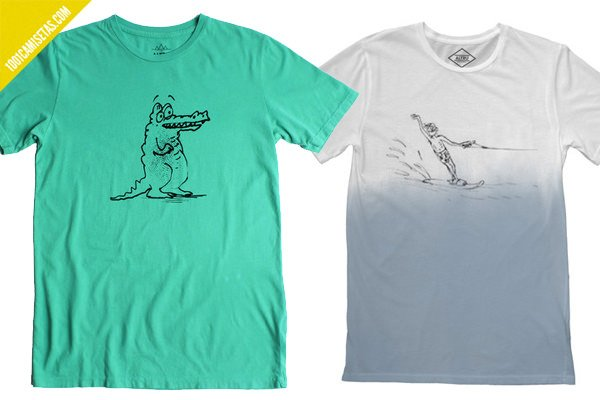 Camisetas vintage altru apparel