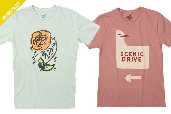 Camisetas vintage altru