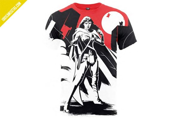 Camisetas wonder woman