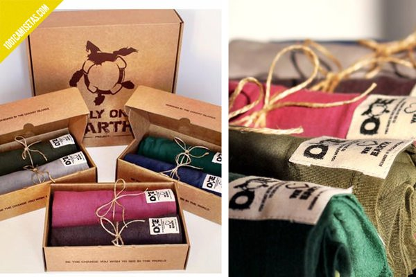 Packaging camisetas ecologicas