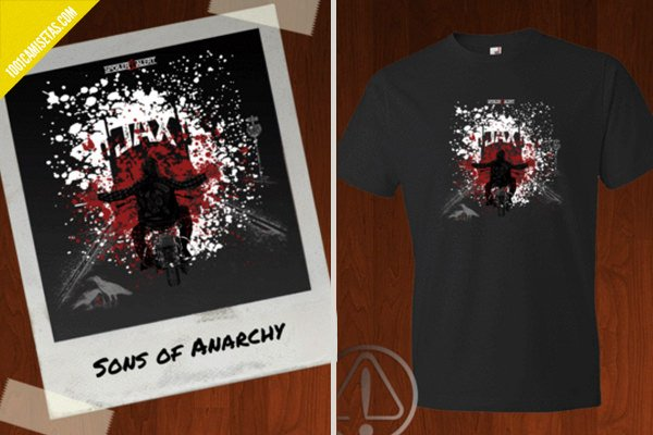 Camiseta sons of anarchy spoiler