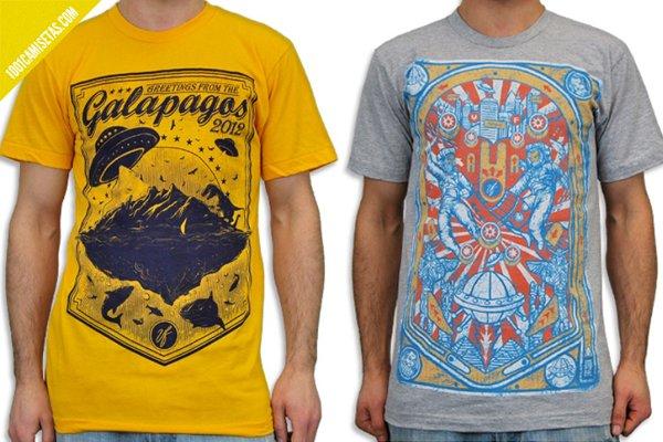 Camisetas ciencia ficcion venus fallen