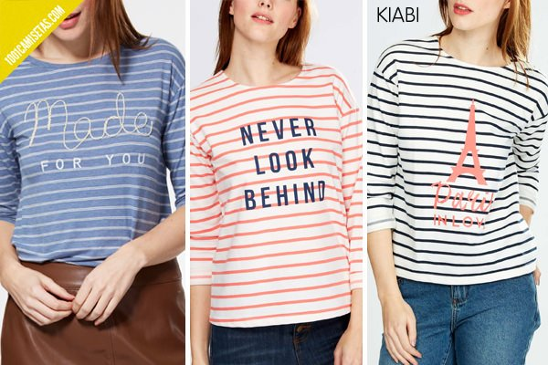 Camisetas de rayas kiabi