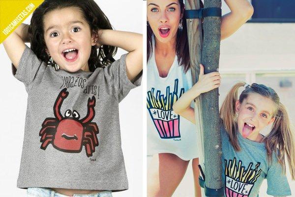 Camisetas infantiles solidarias