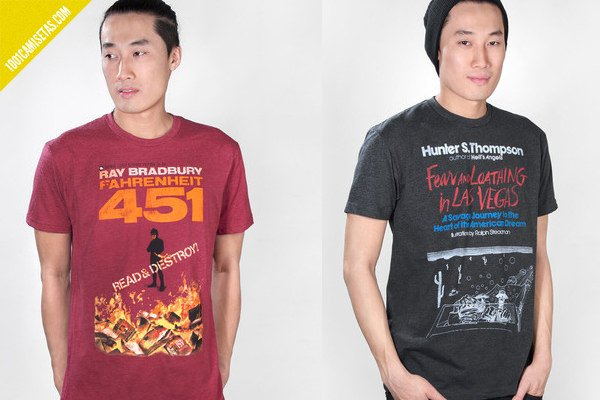 Camisetas libros fahrenheit 451