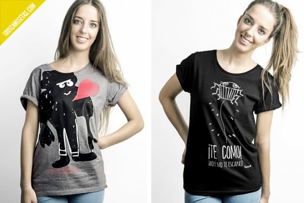 Camisetas mujer yosiquese