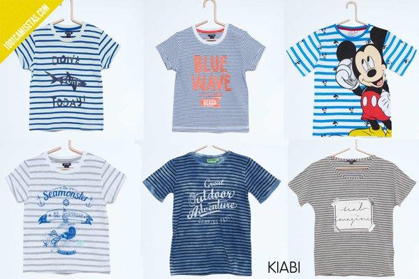 Camisetas rayas kiabi