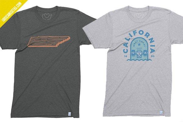 Camisetas vintage usa