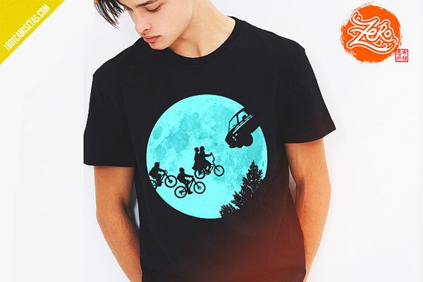 Camiseta et stranger things
