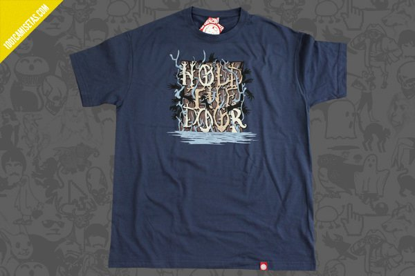 Camiseta hold the door señor miyagi