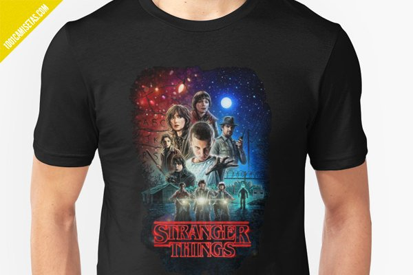 Camisetas de stranger things