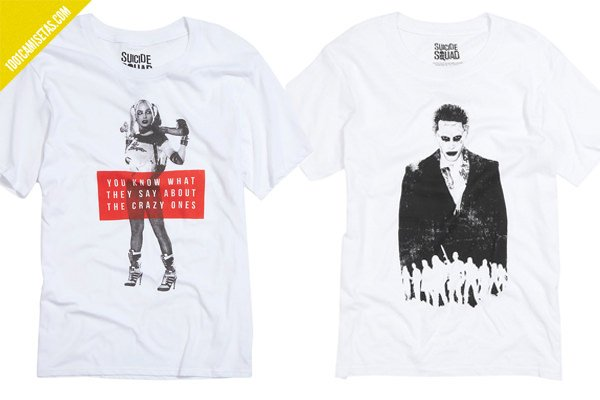 Camisetas Harley Joker Suicide squad