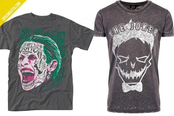 Camisetas Joker suicide squad