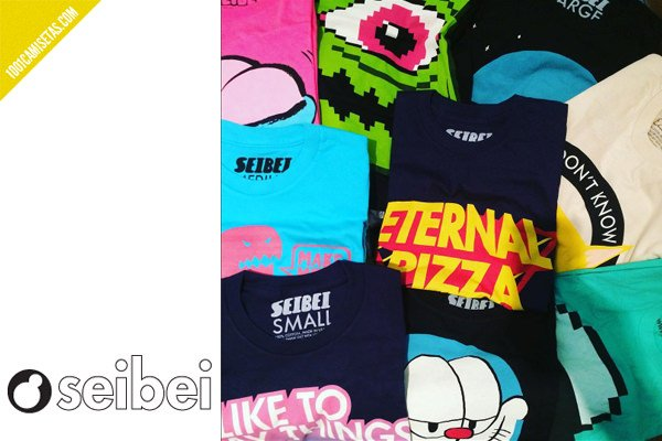 Camisetas seibei