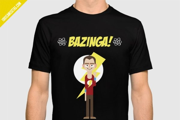 Camiseta sheldon cooper bazinga
