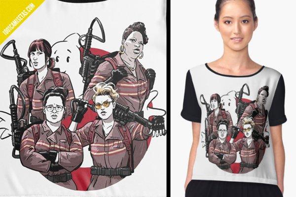 Camisetas cazafantasmas