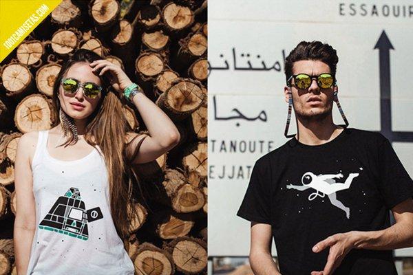 Camisetas compartidas