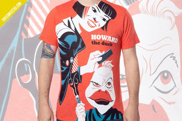 Camiseta howard the duck vintage