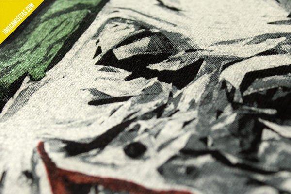 Camiseta serigrafia trama sr miyagi