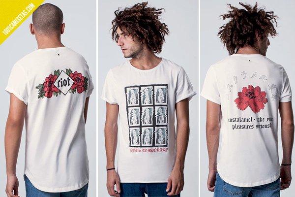 Camisetas de costalamel