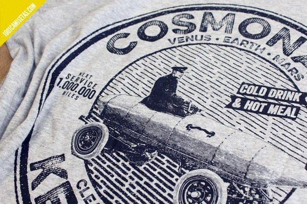 Serigrafia tintas agua la cosmonauta