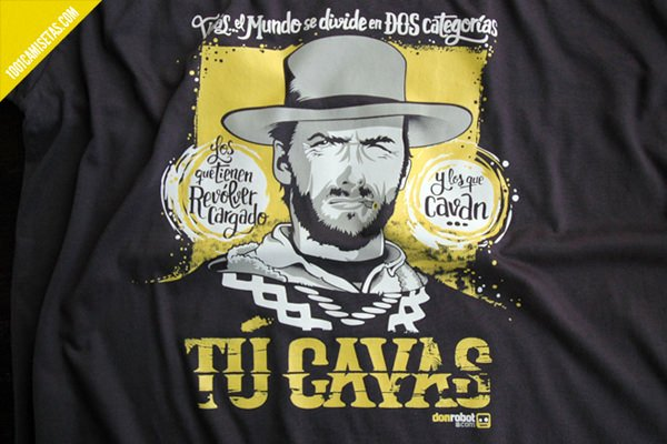 Camiseta clint eastwood don robot