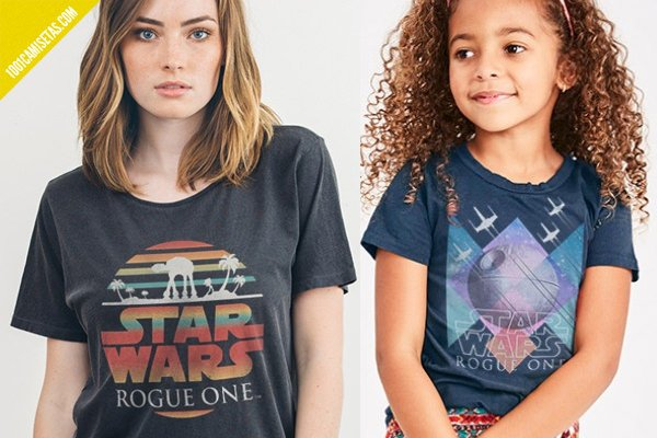 Camisetas rogue one junk food clothing