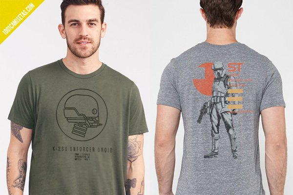 Camisetas rogue one junk food