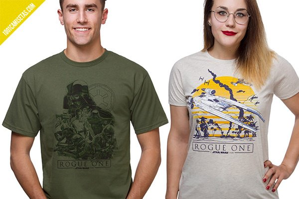 Camisetas rogue one think geek