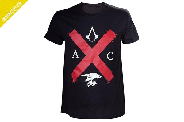 Camisetas assassins creed forbidden planet