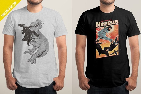 Camisetas en oferta threadless