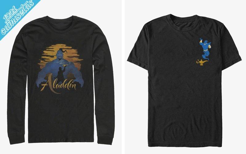Camisetas de Aladdin