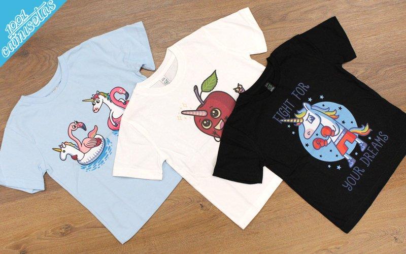 Camisetas infantiles de unicornios