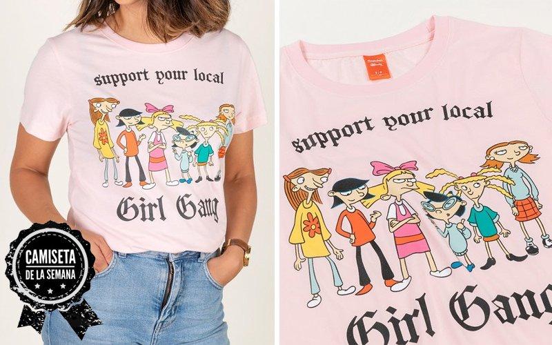 Camiseta Girl Gang