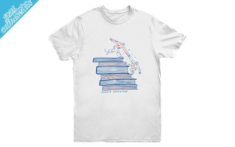 Camisetas solidarias Mosaik Education