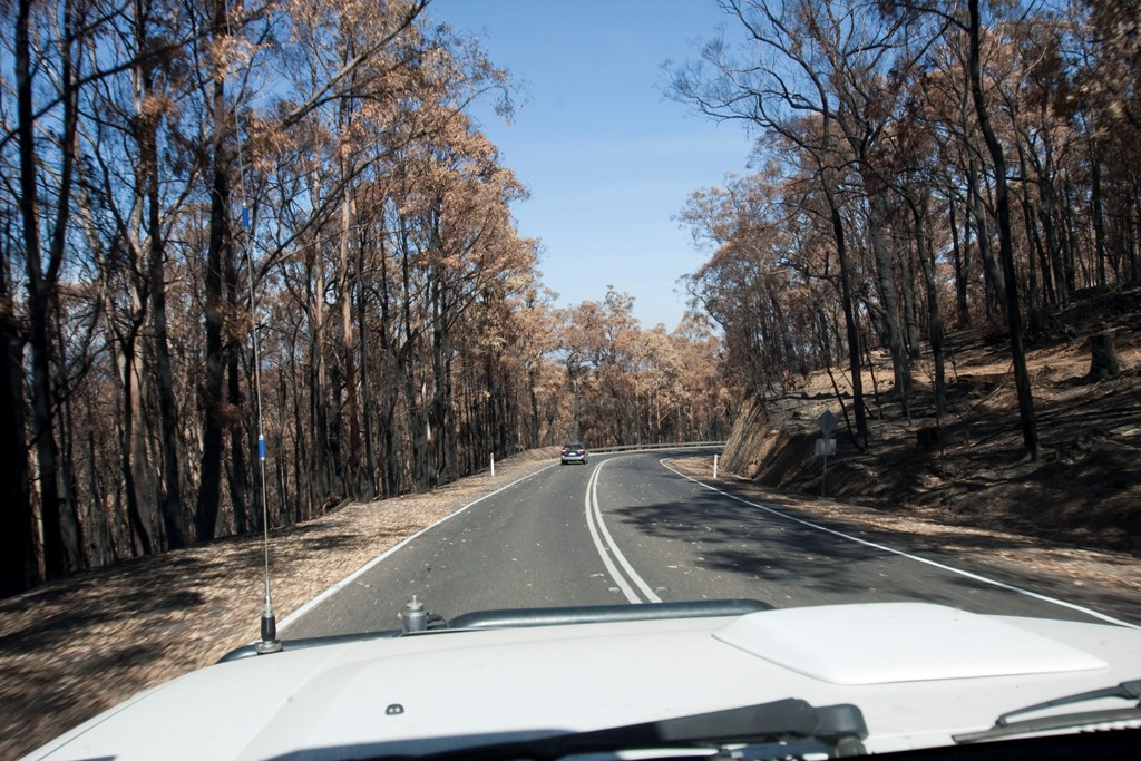 Road from Kinglake to Yarra Glen